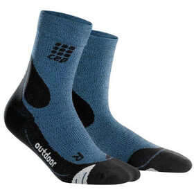 cep Dynamic+ Outdoor Merino Mid-Cut Socks Women desert sky/black